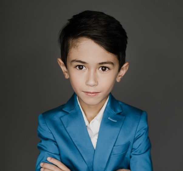 AJ Ravajo, Child model from Chicago, Illinois